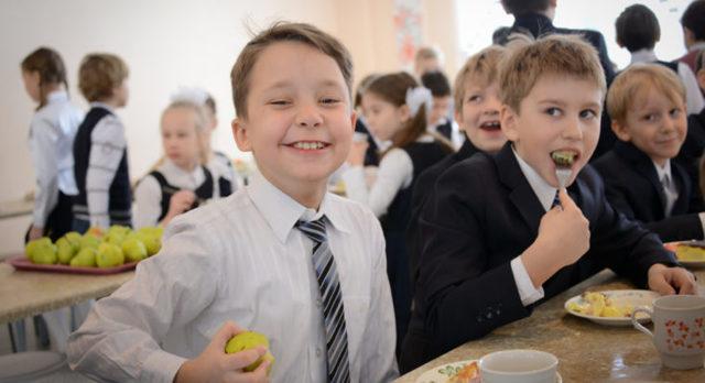 Бесплатное питание в школе в 2020 году.
